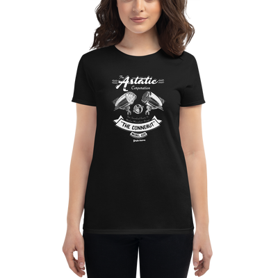 Women's Astatic 600 Microphone Retro T-shirt
