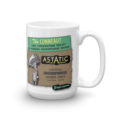 Astatic 600 Big Coffee Mug #1 (15oz)