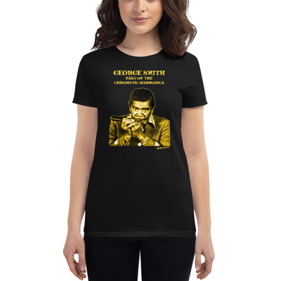 "Women's George ""Harmonica"" Smith T-shirt"