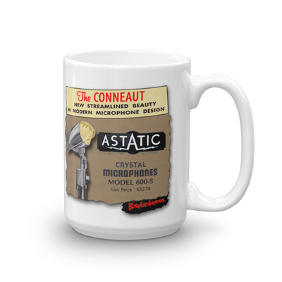 Astatic 600 Big Coffee Mug #2 (15oz)