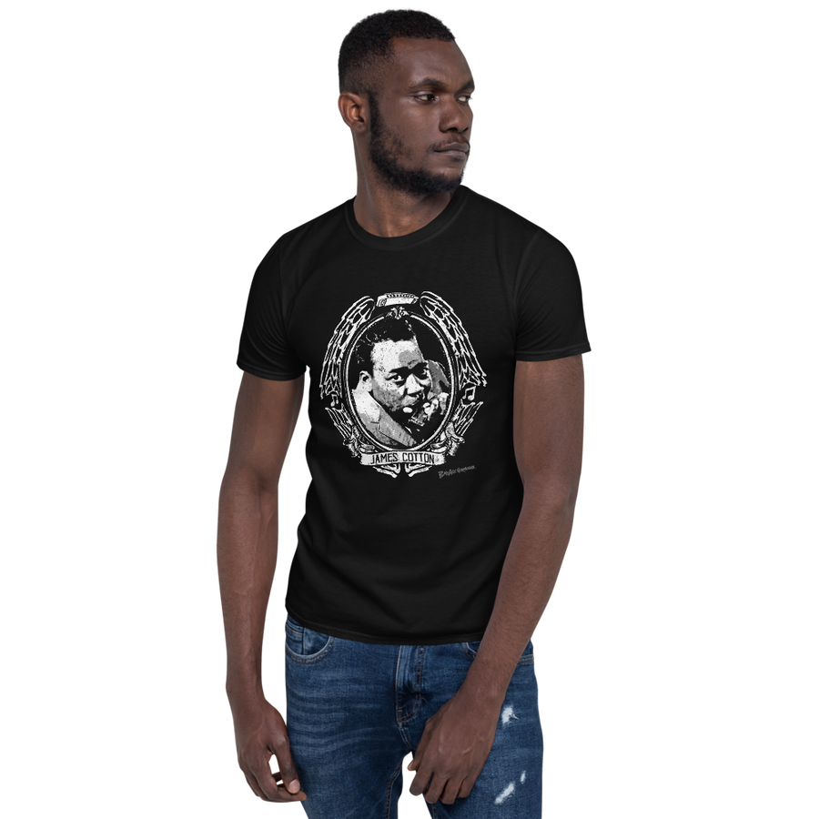 James Cotton crest T-shirt