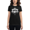 Women's Shure Green Bullet Retro Microphone T-shirt