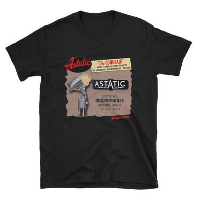 Astatic 600 Microphone T-shirt #2