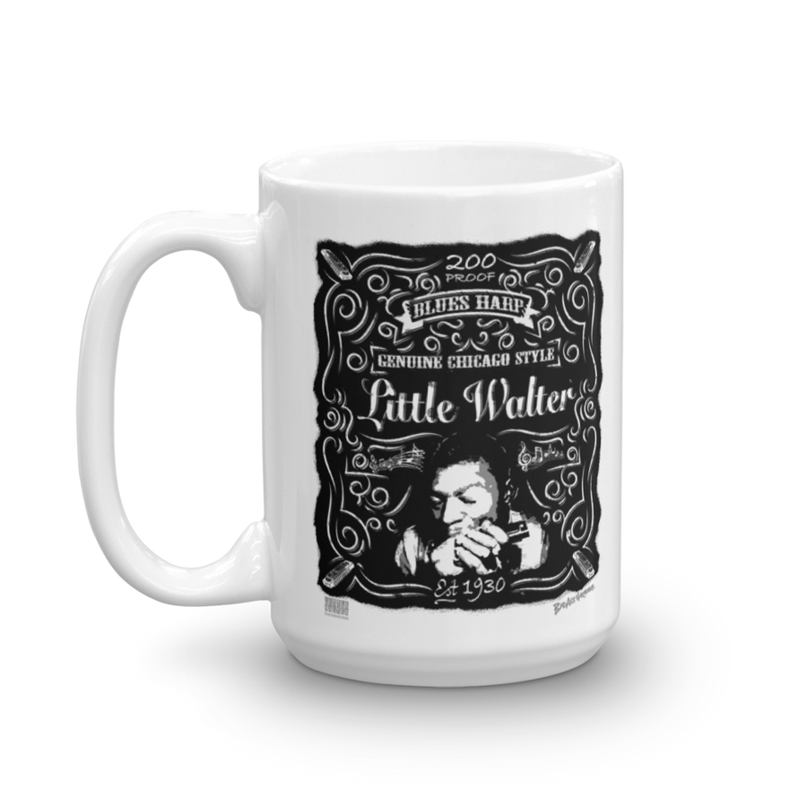 Little Walter whiskey Coffee Mug (15oz)