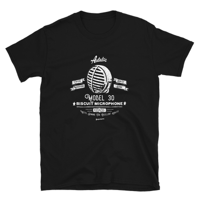 Astatic Biscuit Retro Microphone T-shirt