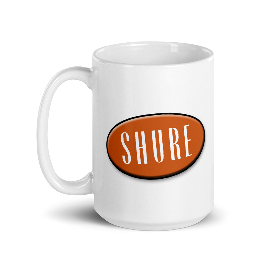 Shure Streamliner Big Coffee Mug (15oz)