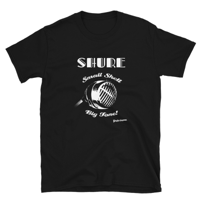 Shure Small Shell Microphone T-shirt