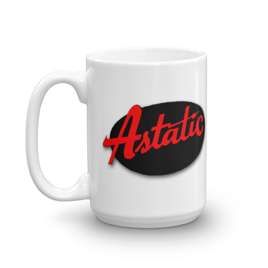 Astatic microphone coffee cup