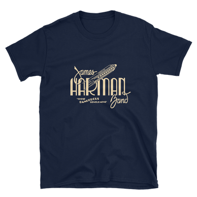 James Harman Band NAVY T-shirt
