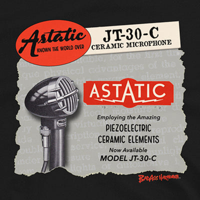 Women's Astatic JT-30-C Microphone T-shirt