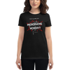 Women's Microphone Monday T-shirt (red)