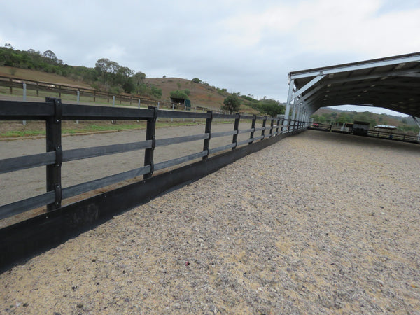 Rubber Rail Fencing