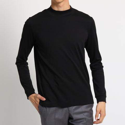 Mockneck Long Sleeve T-shirts