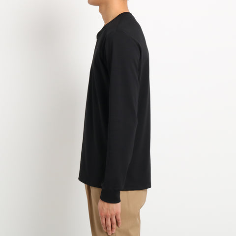 【干場義雅監修】Henley neck Long Sleeve T-shirts