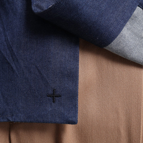 Tailored Shirts Highcount Indigo