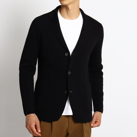 【再入荷】【SUVIN COTTON】Milano Rib Knit Jacket