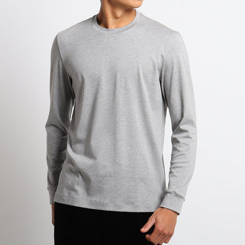 【新色】【SUVIN PLATINUM】Tailored Long Sleeve T-shirts