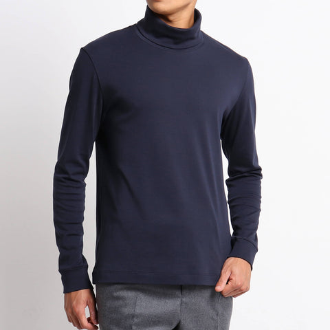 【SUVIN PLATINUM】Tailored Turtleneck T-shirts