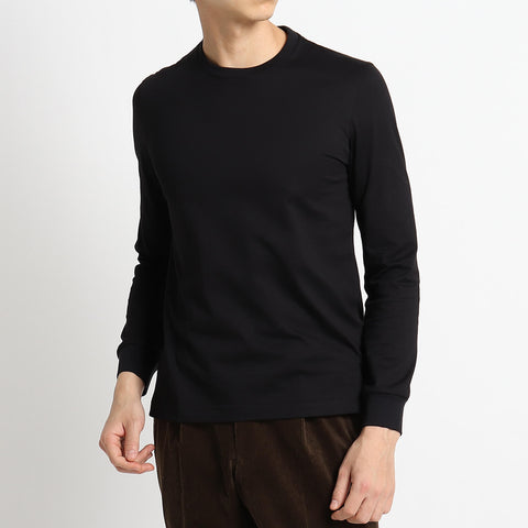 【SUVIN PLATINUM】Tailored Long Sleeve Light T-shirts