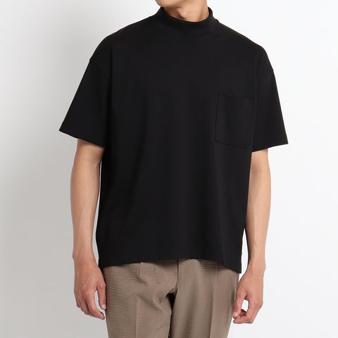 【干場義雅監修】Mock neck Over T-Shirts