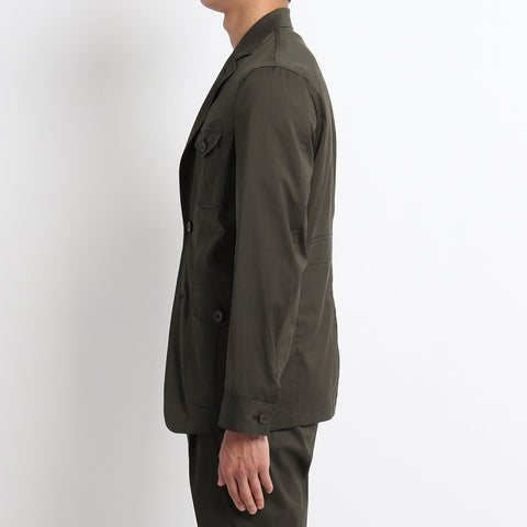 【TECHWOOL】Solaro Safari Jacket ※4月20日頃入荷分