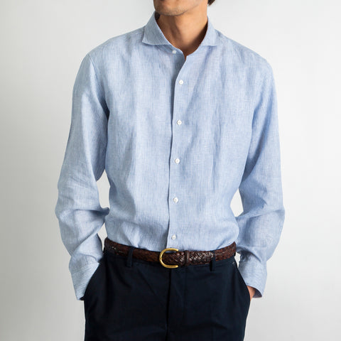 【ALBINI Fabric】Linen Shirts
