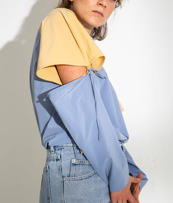 Convertible Sleeve Tee (Beatrice)