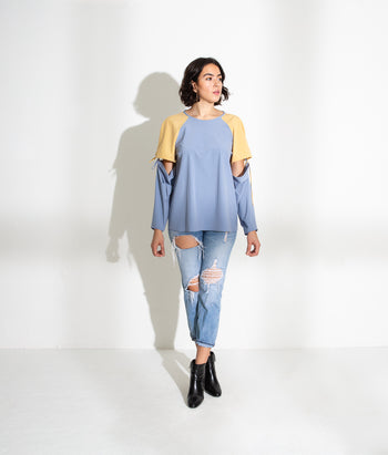 Convertible Sleeve Tee (Melody)