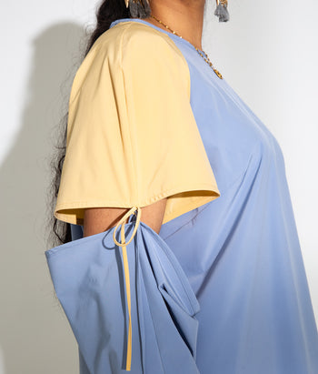 Convertible Sleeve Tee (Vineeta)