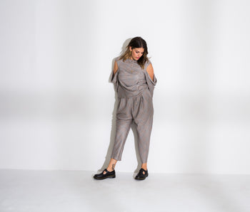 Cowl Top and Pant Set (Jackie)