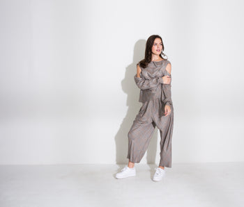 Cowl Top and Pant Set (Maggie)