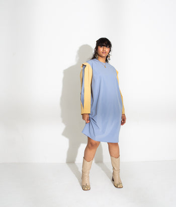 Pleat Sleeve Mini (Vineeta)