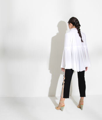 Pleated Button Down (Anja)