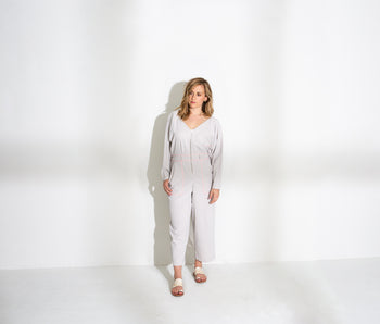 Zip Front Jumpsuit (Avery)