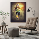 FOOTBALL LIGHT EFFECT - CANVAS - MI1403202