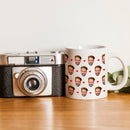 CUSTOM FACE WITH HEART - WHITE MUG - TD2702201