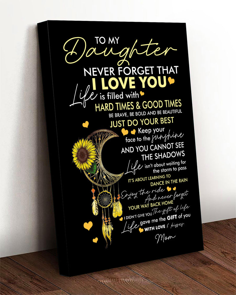 NEVER FORGET THAT I LOVE YOU - CANVAS - TA1710201LG