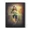 FOOTBALL LIGHT EFFECT - FRAMED CANVAS - MI1403202