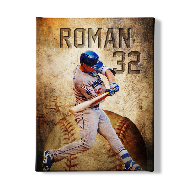 BASEBALL PLAYER - CANVAS - NG1303201