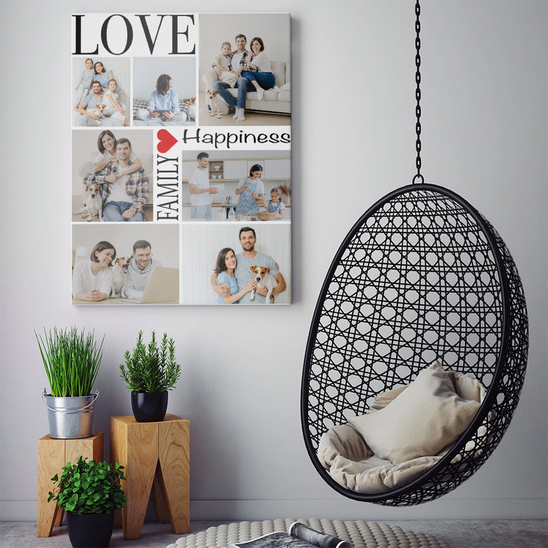 FAMILY IS MY LOVE - CANVAS - TU2802202
