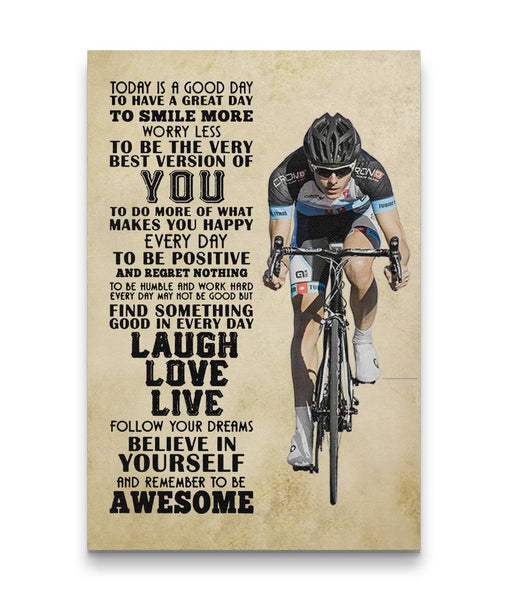 Remember To Be Awesome Cycling Trendingcanvas
