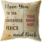 I LOVE YOU CUSTOM BASEBALL - PILLOW - TD2502202