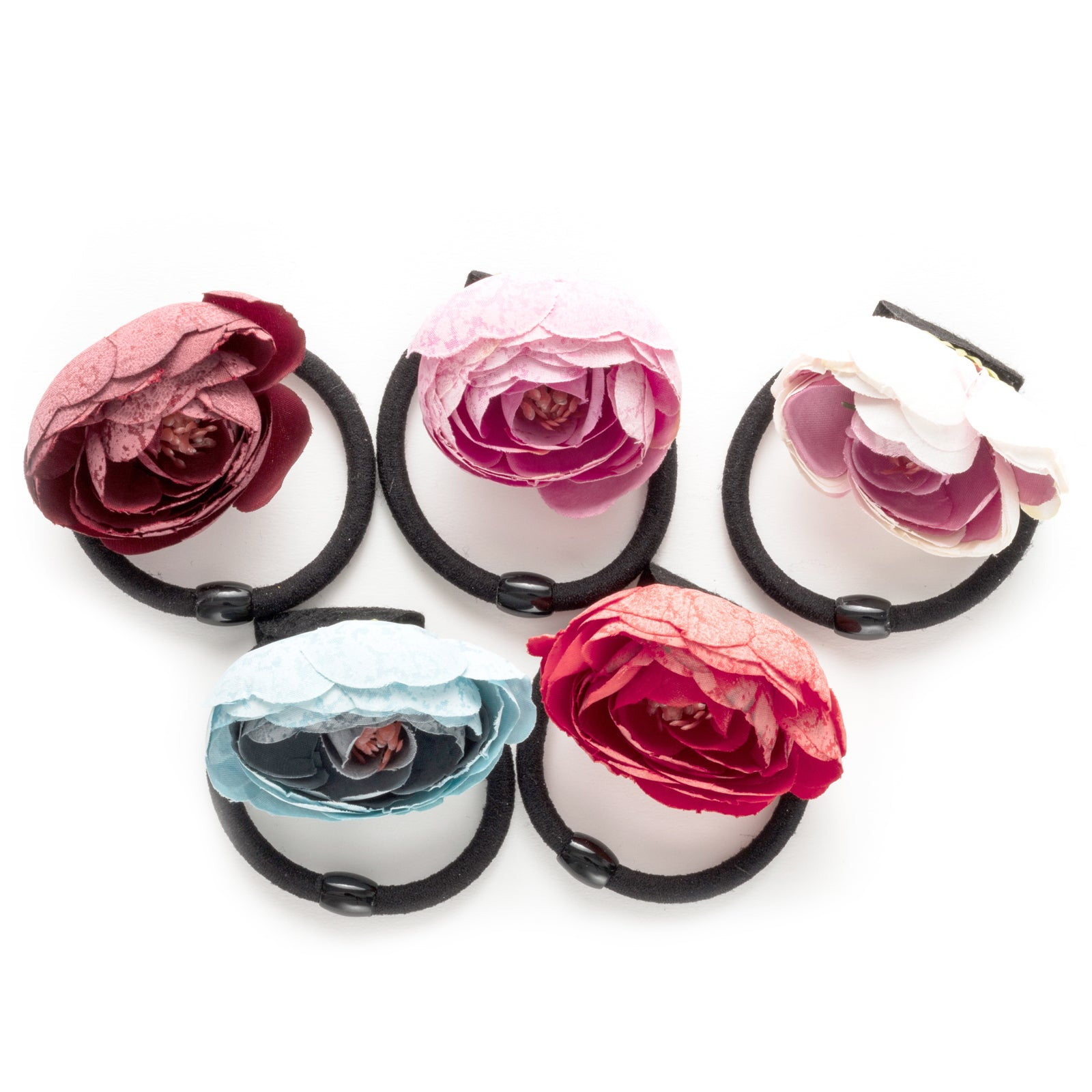Flower Bud hair tie