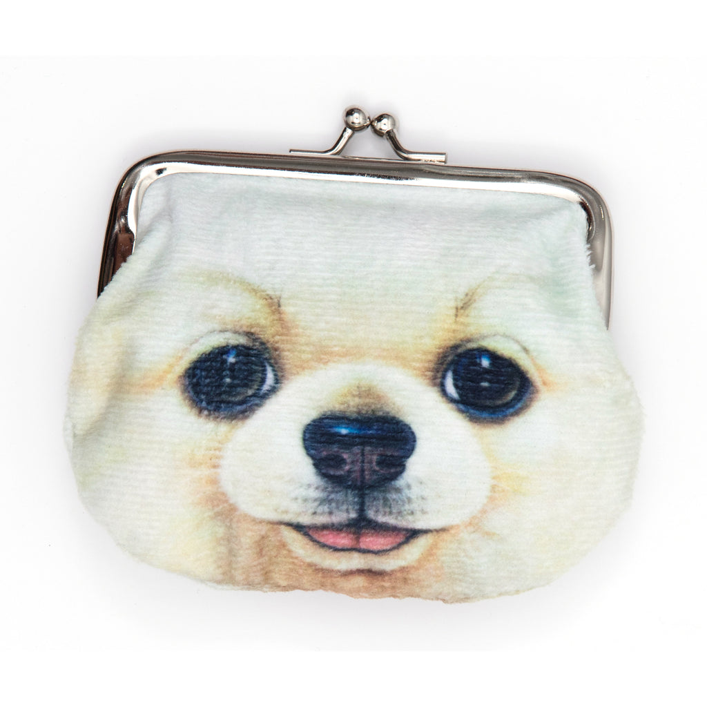 Dog and cat coin purse