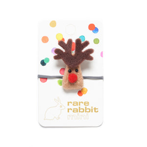Rudolph Christmas Hair Tie