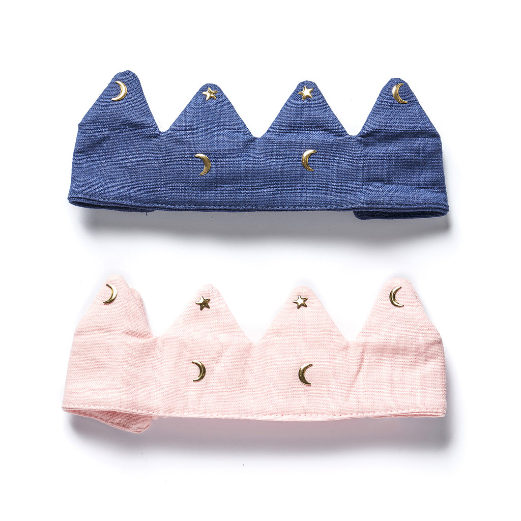Linen Crowns aliceband