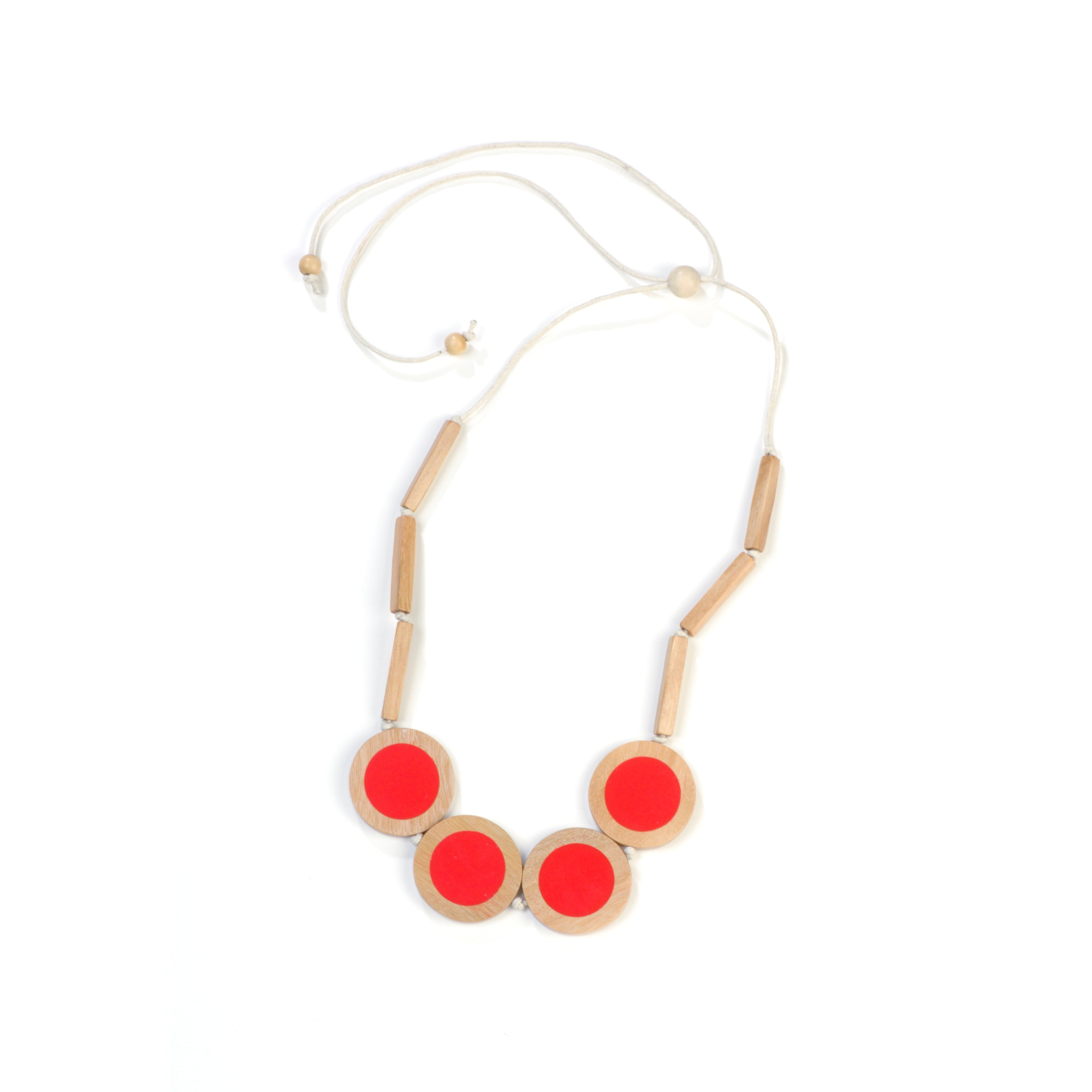 Resin Circles necklace