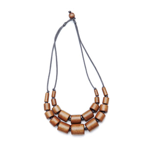 Double Tube necklace