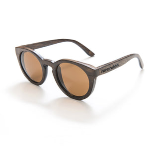 Honey wood sunglasses, polarised (dark natural)
