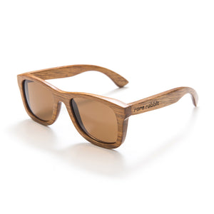 Classic Bond wood sunglasses, polarised (light natural)